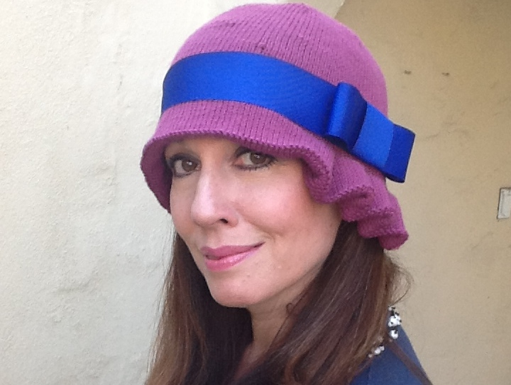 cloche hat the cloche hat project kit the knitting channel